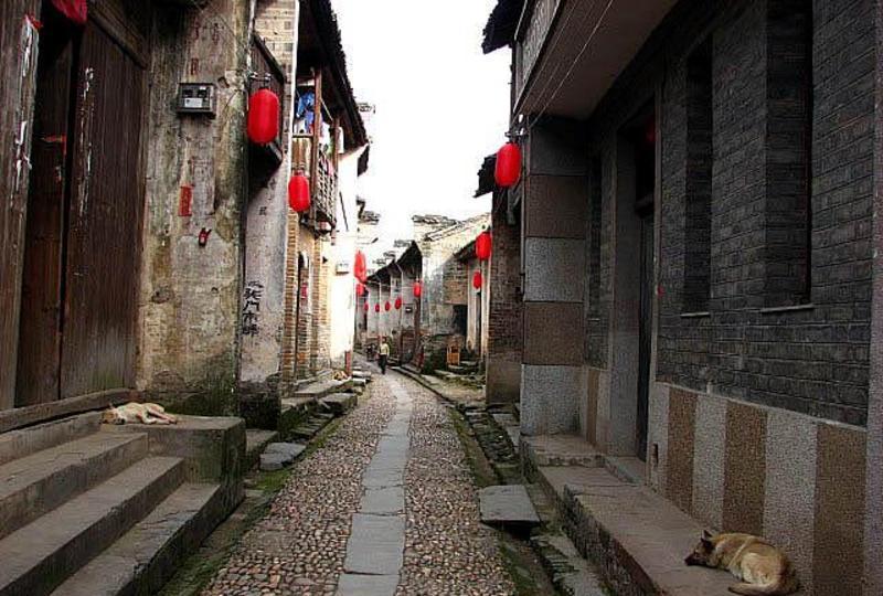 吉安渼陂古村景点图片