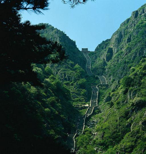 泰山风景点图片