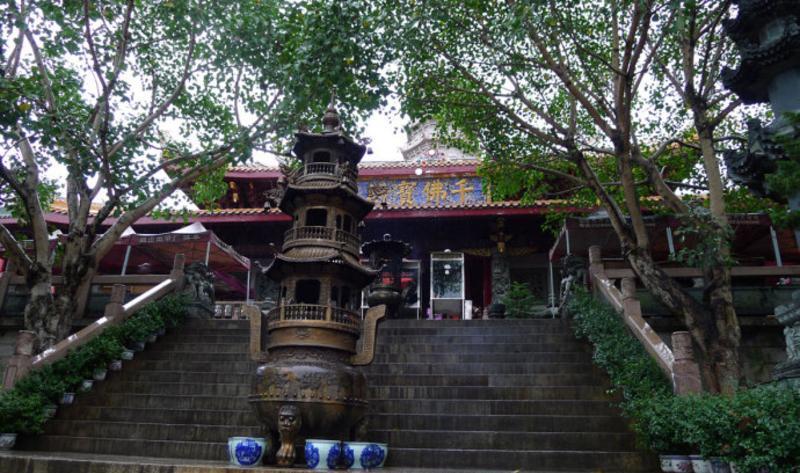 梅州千佛塔寺的图片和照片
