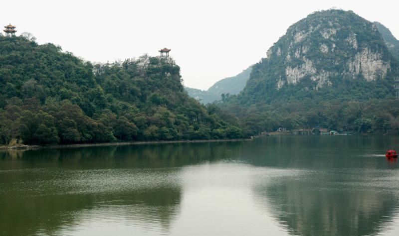 柳州龙潭公园景点图片