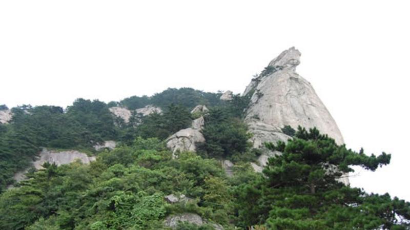 麻城龟峰山风