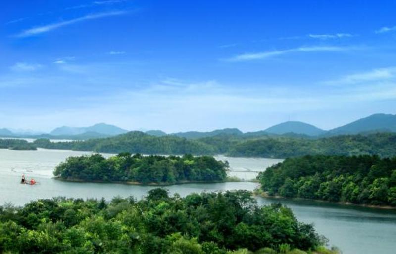 湖北赤壁陆水湖