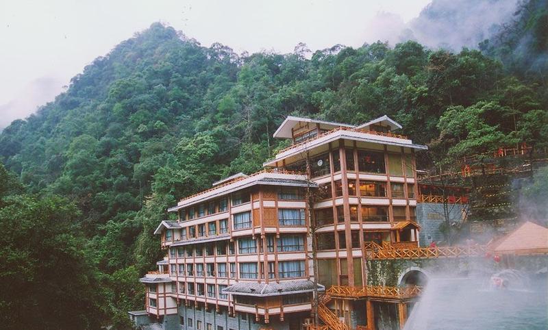 龙胜温泉酒店景点图片
