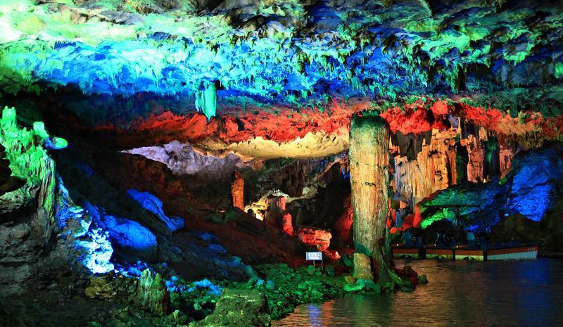 通山隐水洞地质公园