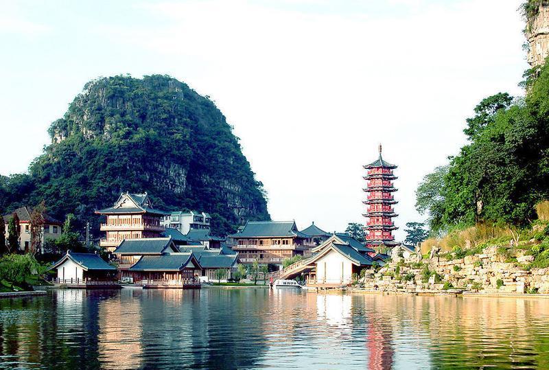 桂林两江四湖的图片和照片