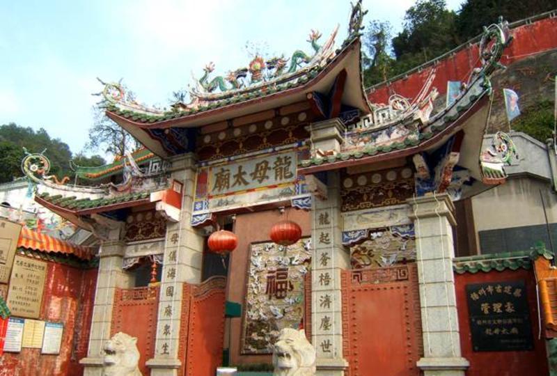 梧州龙母庙景点图片