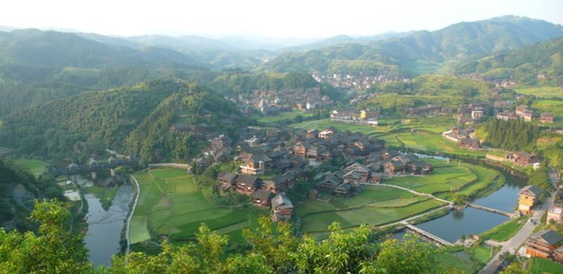 程阳侗族八寨景点图片