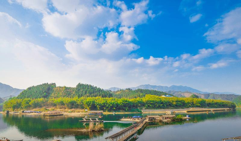 柳州融水贝江风的图片和照片