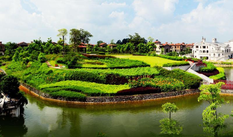 清远市狮子湖 之 花岛风景图片