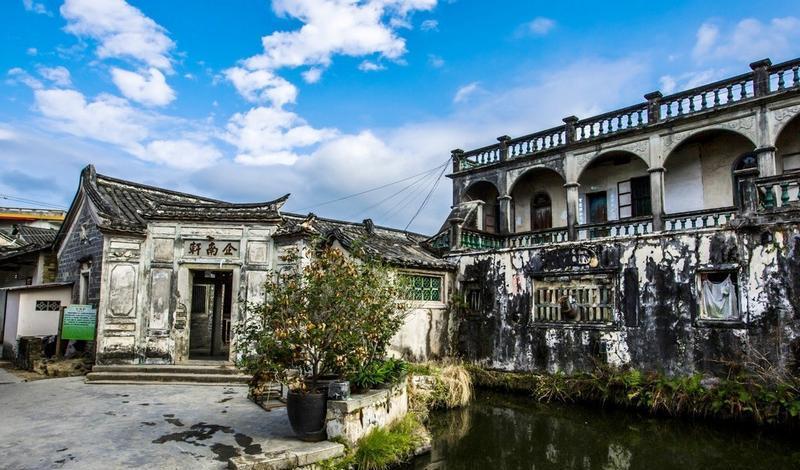 梅州大埔百侯名镇旅游区的图片和照片