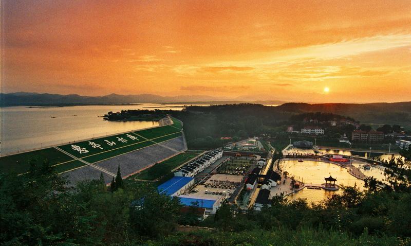 惠亭湖国家水利风