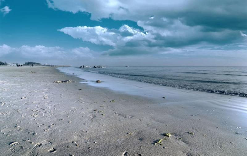广西北海银滩景点图片