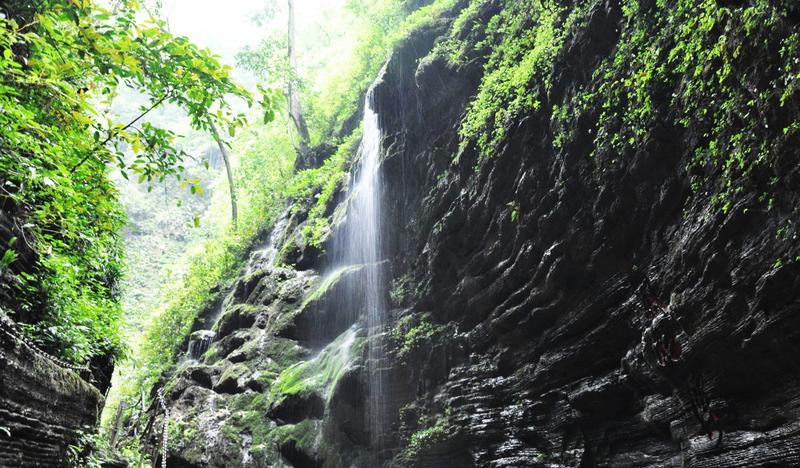 古丈坐龙峡国家森林公园