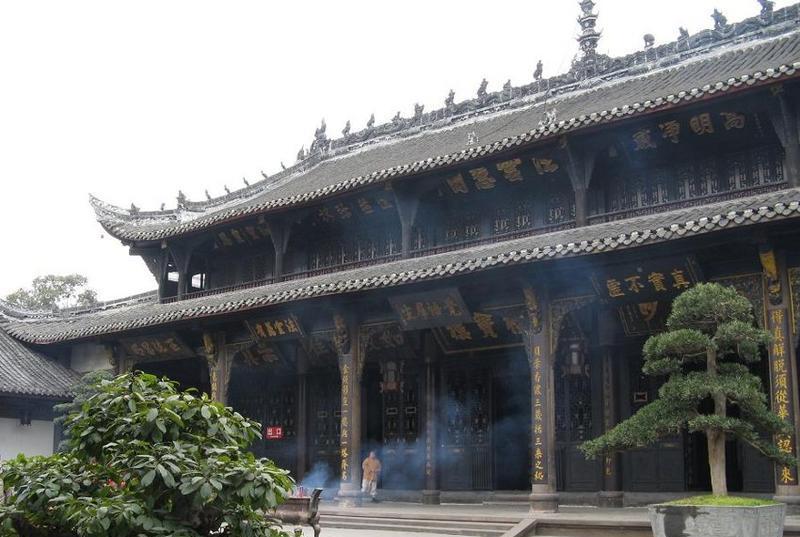 成都宝光寺 之 藏经楼的图片和照片