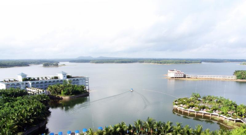 海口南丽湖风景点图片