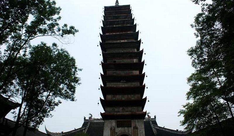 成都宝光寺 之 舍利塔的图片和照片