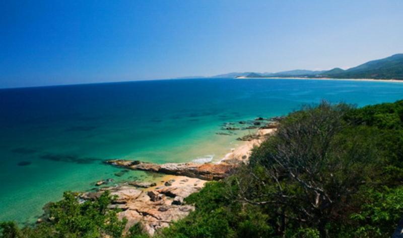 海南香水湾景点图片