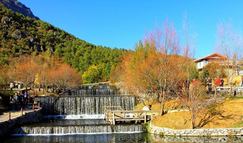 丽江玉水寨景点图片