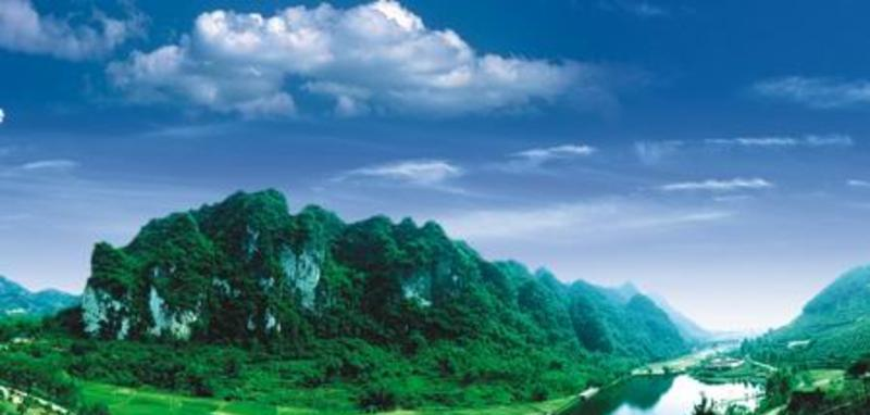 兴业鹿峰山风景点图片
