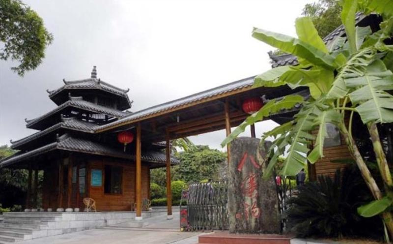 钦州八寨沟旅游风景图片