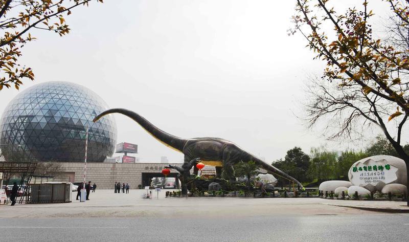陕西自然博物馆景点图片