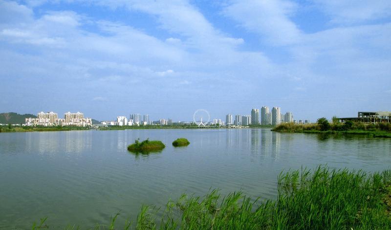 遂宁观音湖湿地公园景点图片