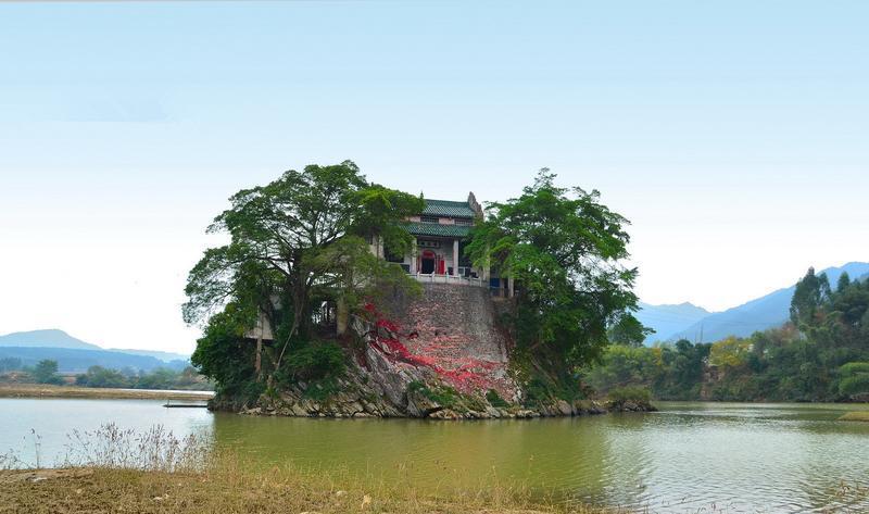 贺州浮山风景点图片