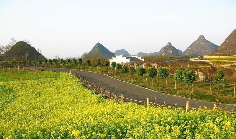 贞丰三岔河风景点图片