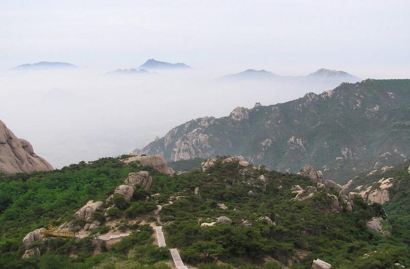 日照五莲山旅游风景点图片