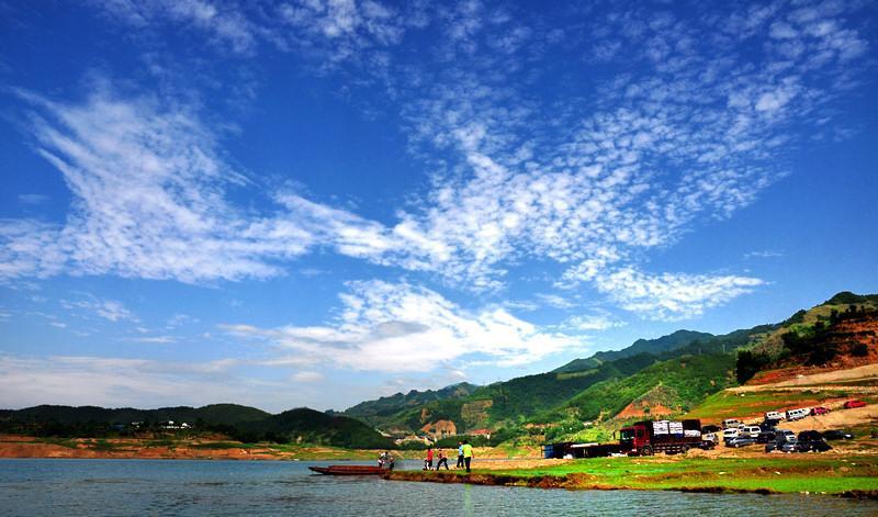 广元白龙湖景点图片
