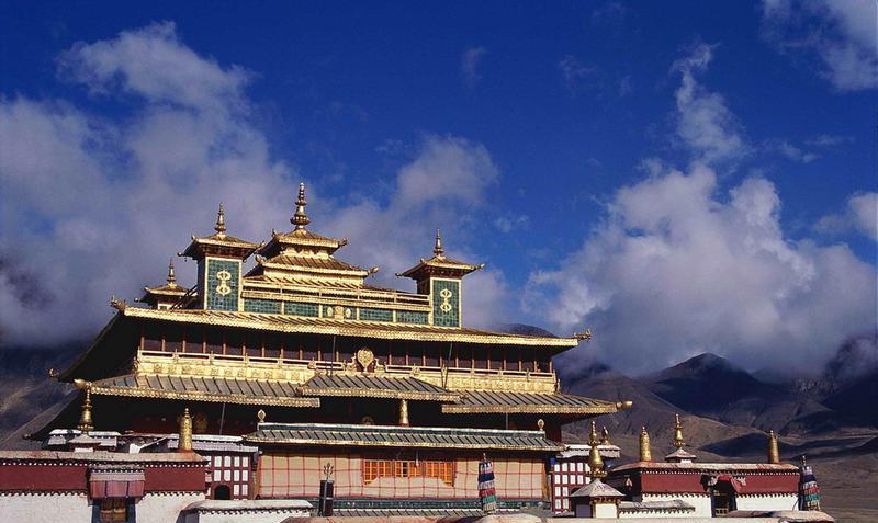 西藏桑耶寺景点图片