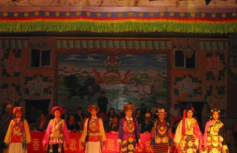 迪庆州民族服饰旅游展演中心景点图片