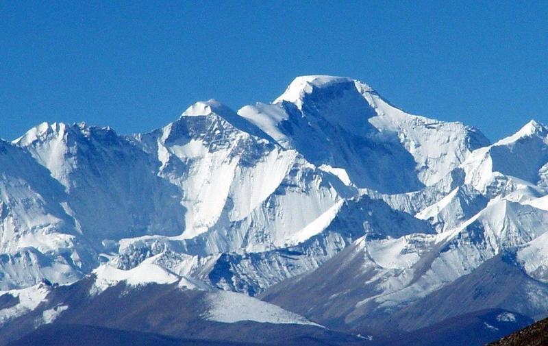 珠穆朗玛峰景点图片