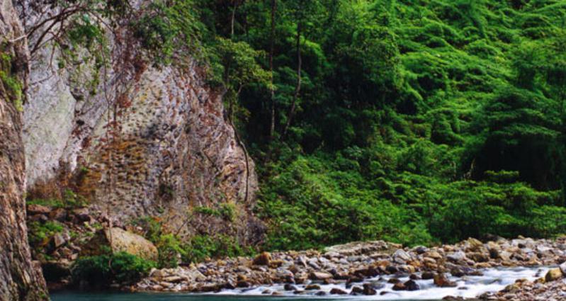 贵州平塘藏字石风景点图片