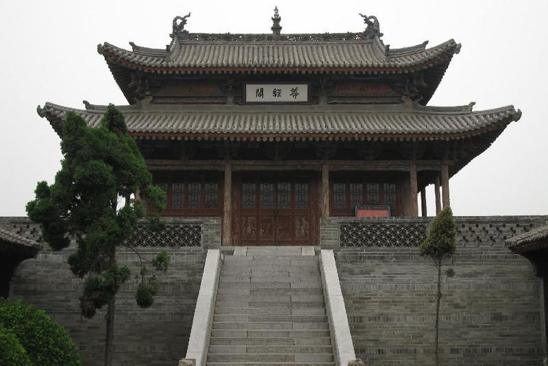 韩城市博物馆旅游风景图片