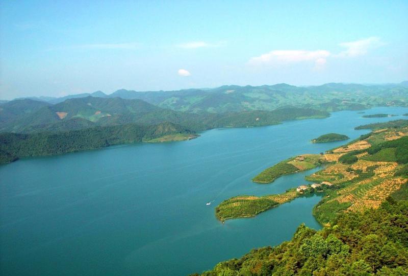 百色澄碧湖风景点图片