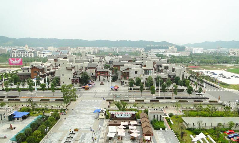 绵阳北川羌城景点图片