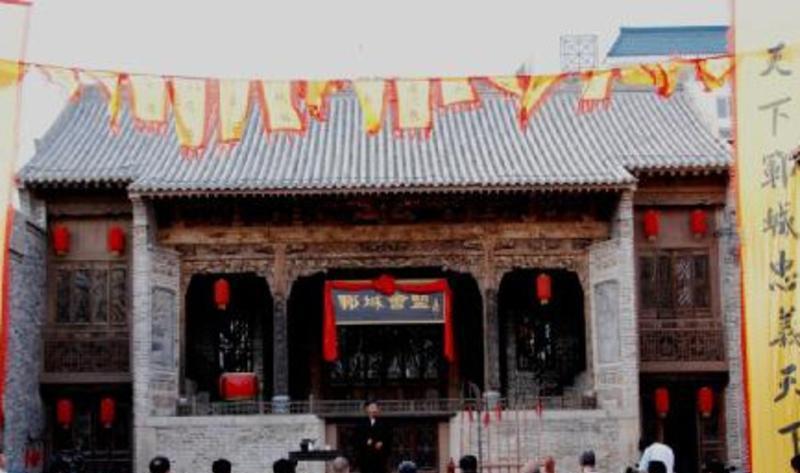 菏泽市水浒好汉城 之 戏楼