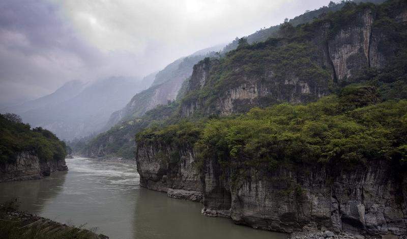 大渡河金口大峡谷景点图片