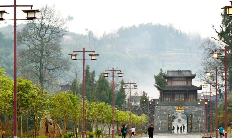 铜仁松桃苗王城景点图片