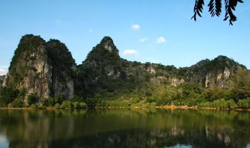广西龙珠湖风景点图片