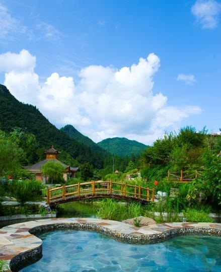 黄平浪洞森林温泉景点图片