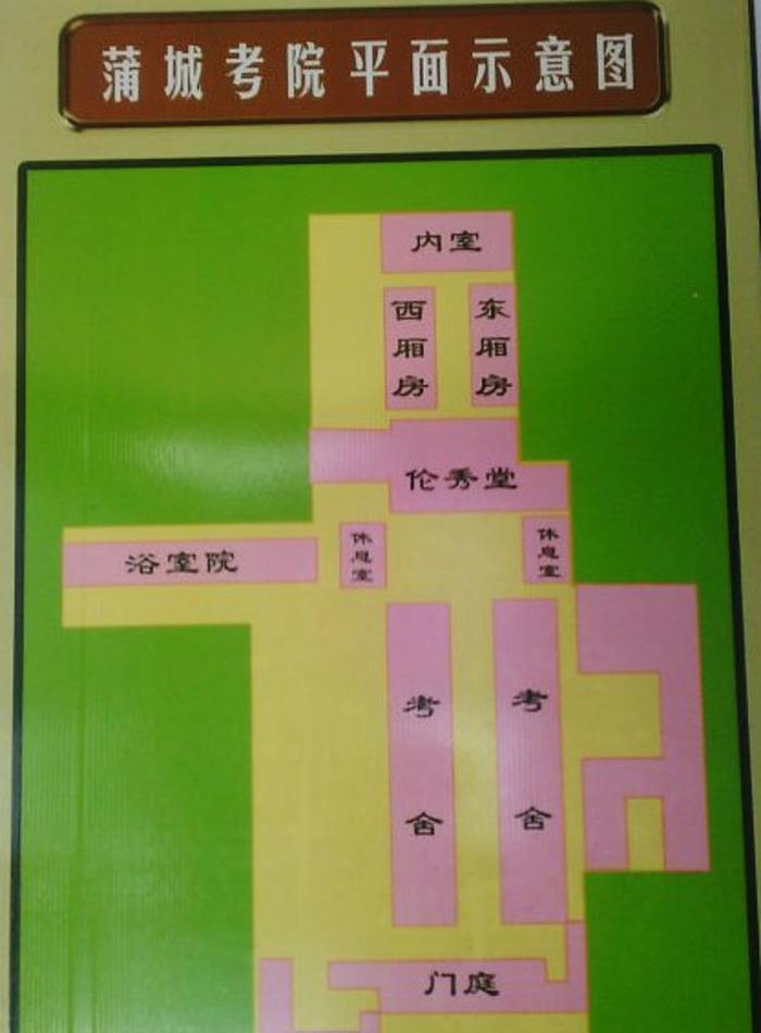 蒲城清代考院博物馆 之 场景复原