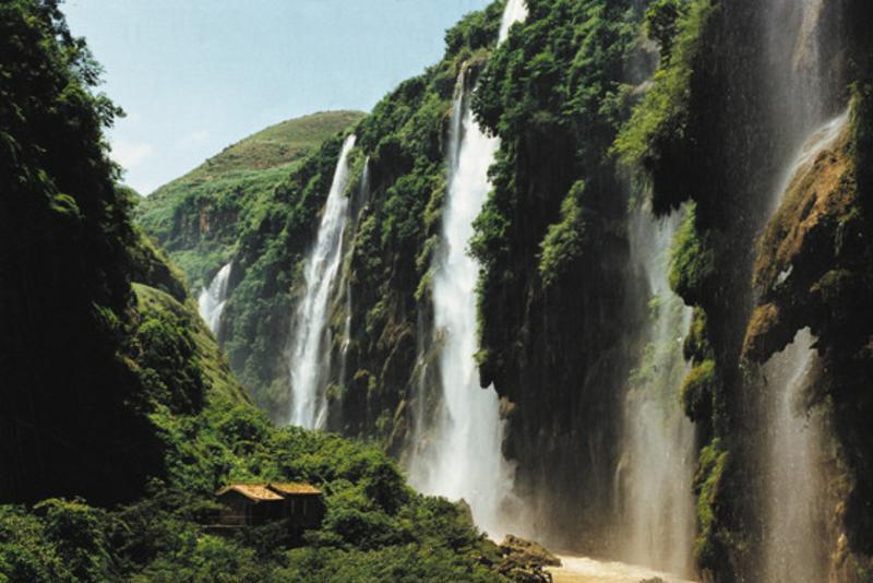 贵州马岭河峡谷景点图片