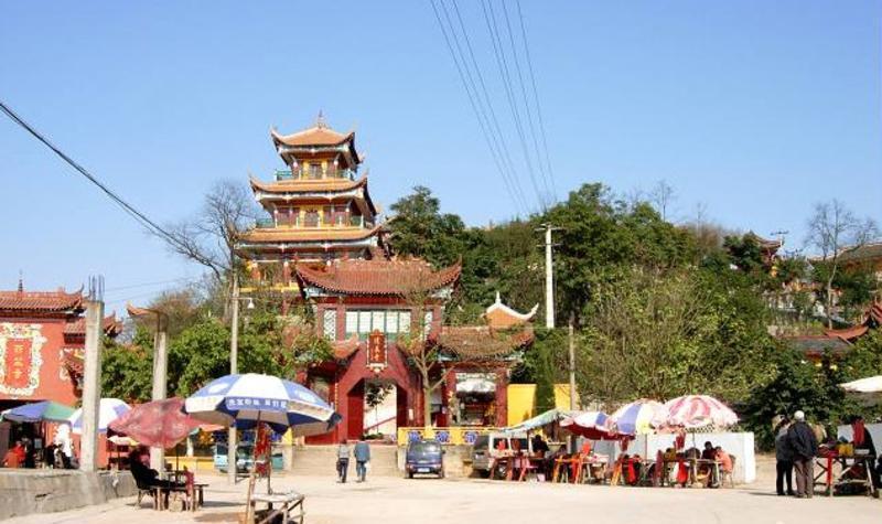 南充清泉寺景点图片