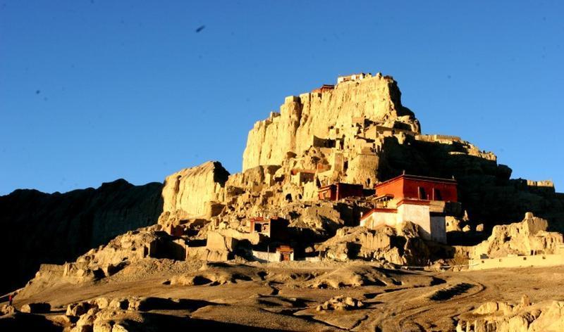 阿里古格王国遗址旅游风景图片