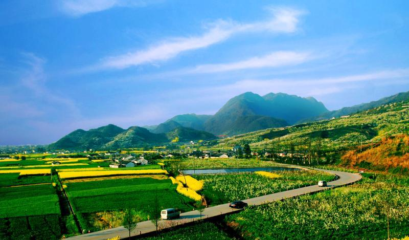 绵竹九龙山麓棠山旅游区