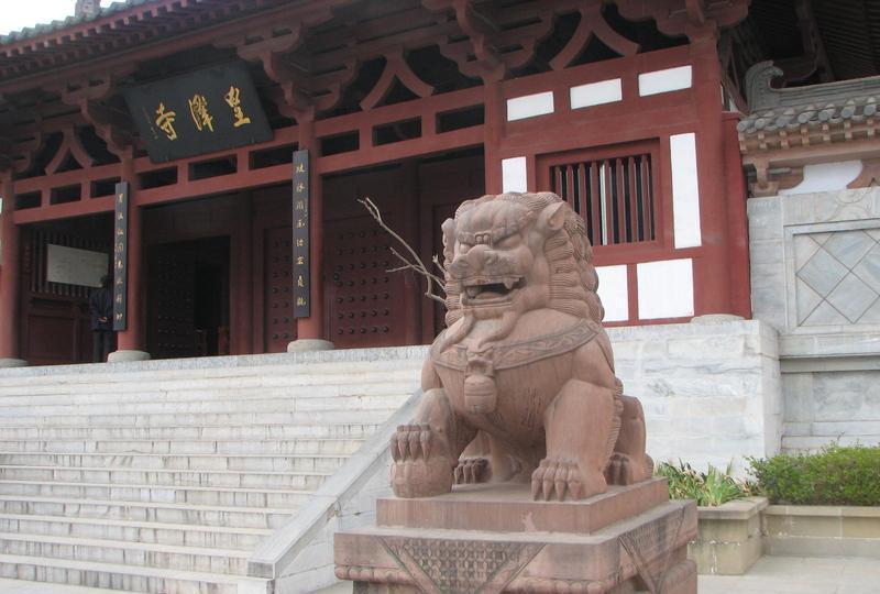 广元皇泽寺景点图片