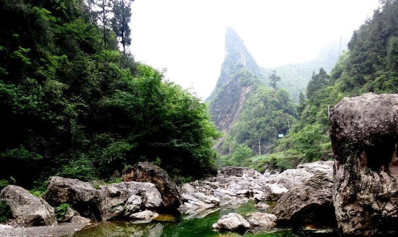 万源花萼山国家级自然保护区景点图片