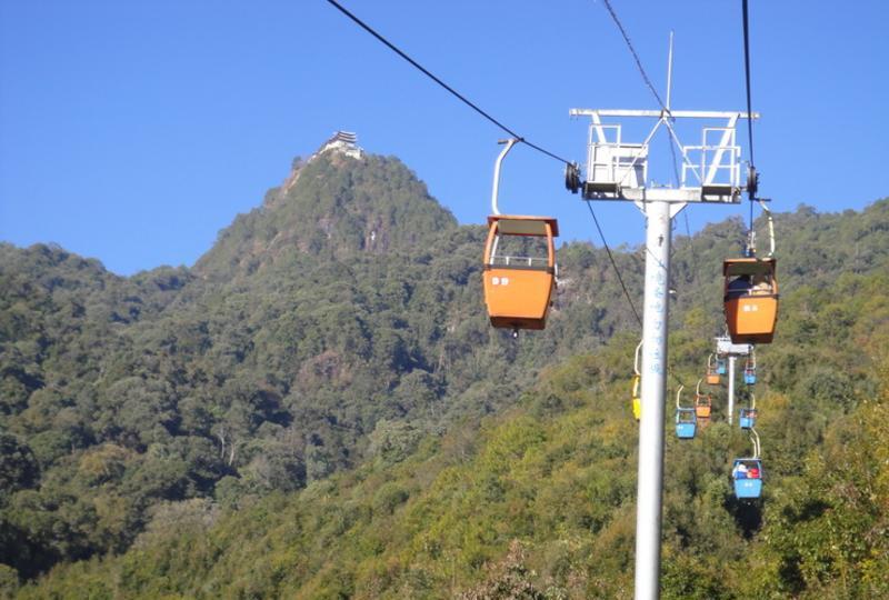 腾冲云峰山 之 索道风景图片